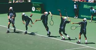 پاورپوینت ارزیابی نحوه سرویس تنیس